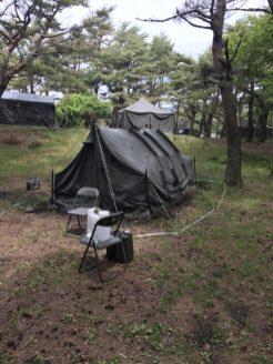 本栖湖キャンプ場 自衛隊 2018年5月26日