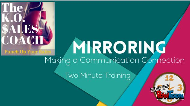 mirroring the communication connection