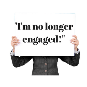 I'm no longer engaged