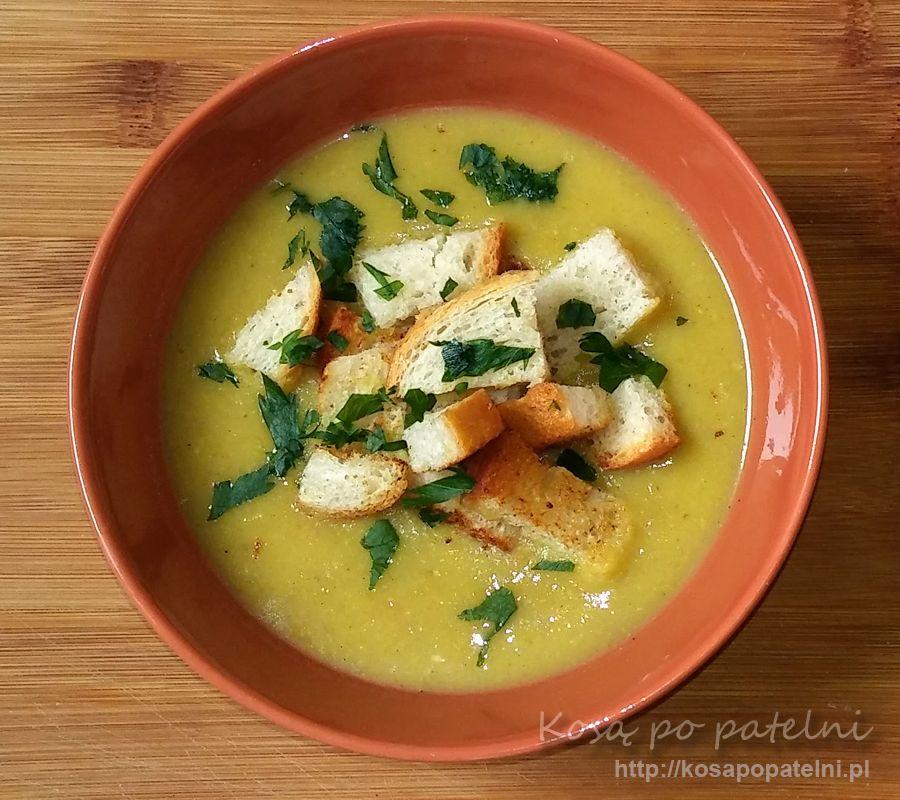 Zupa krem z fasolki szparagowej