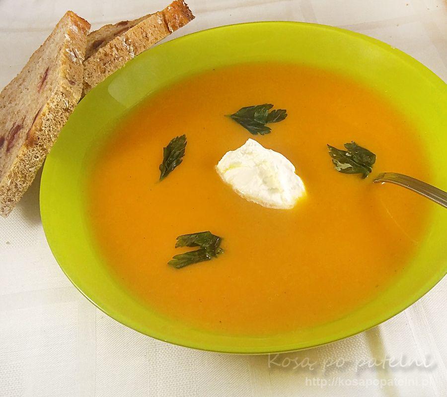 Zupa krem z dyni na ostro