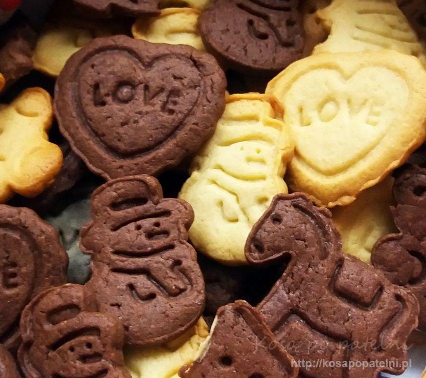 Kruche ciasteczka – stemplowane