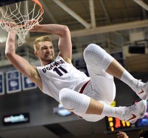 NCAA BASKETBALL: NOV 21 Mount St Mary's at Gonzaga