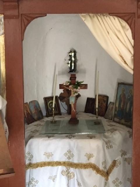 Wanderung von Asomatos nach Haihoutes, kleine Kirche
