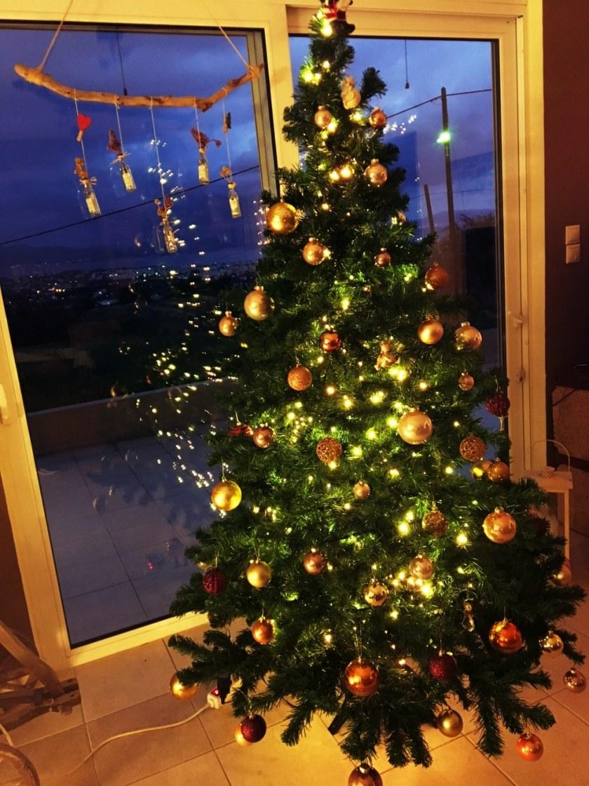 Christbaum an Weihnachte