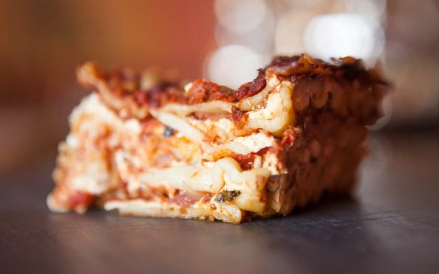 Vegetarian Meat Lasagne