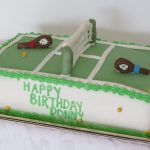 Tennis Anyone? Cake