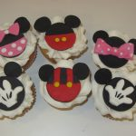 Mickey/Minnie Mouse  Cupcakes