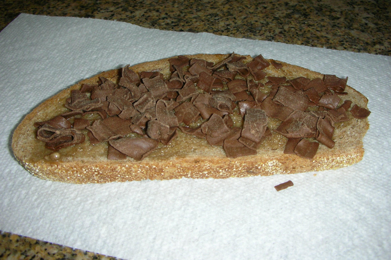 De Ruijters chocolate sprinkles on toast