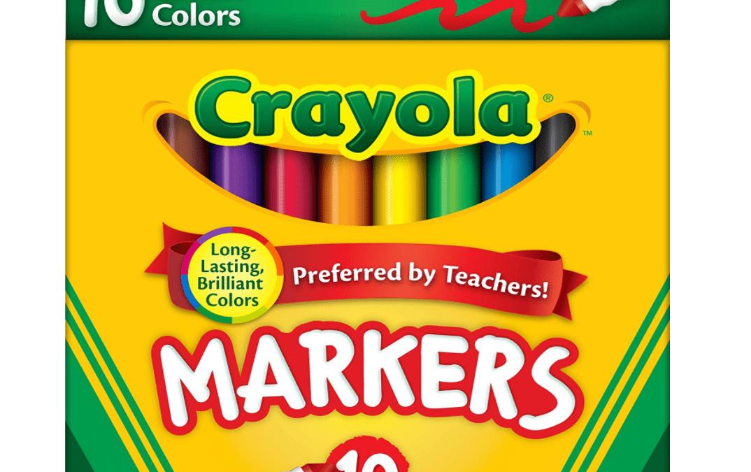SCHOOL SUPPLY ALERT: 99cent Markers