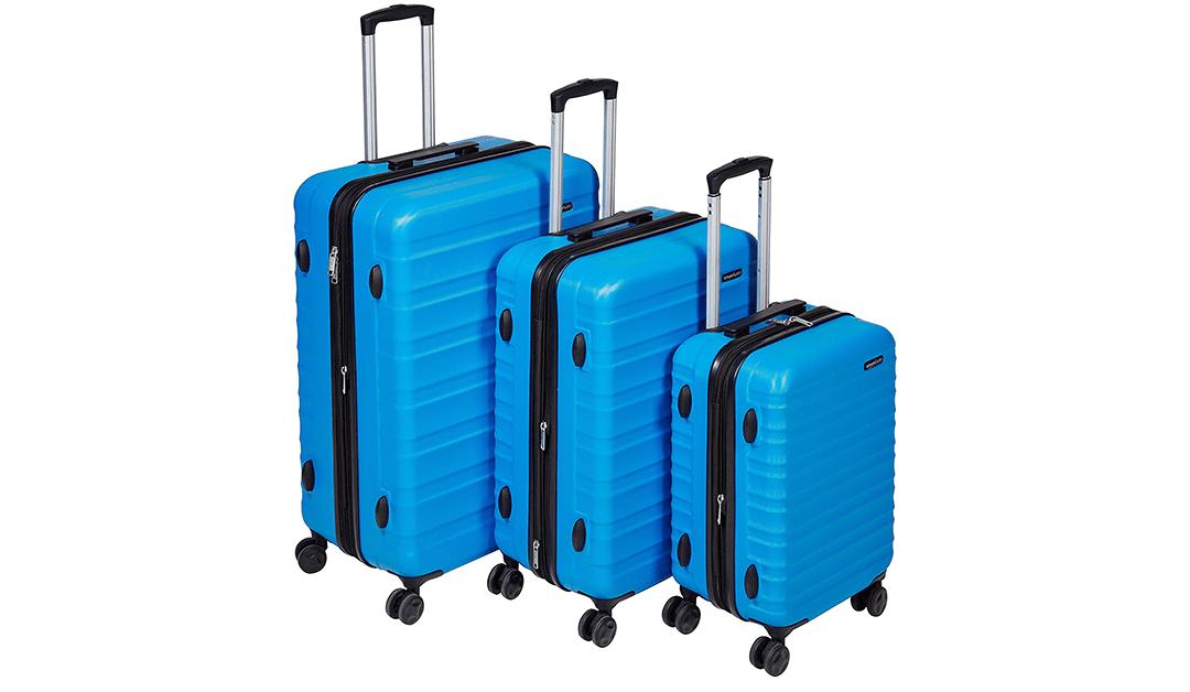 BEST PRICE: Amazon Basics 3-Piece Luggage Set