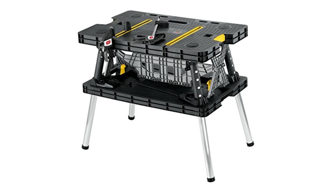Amazon Good Deal: Keter Folding Workbench