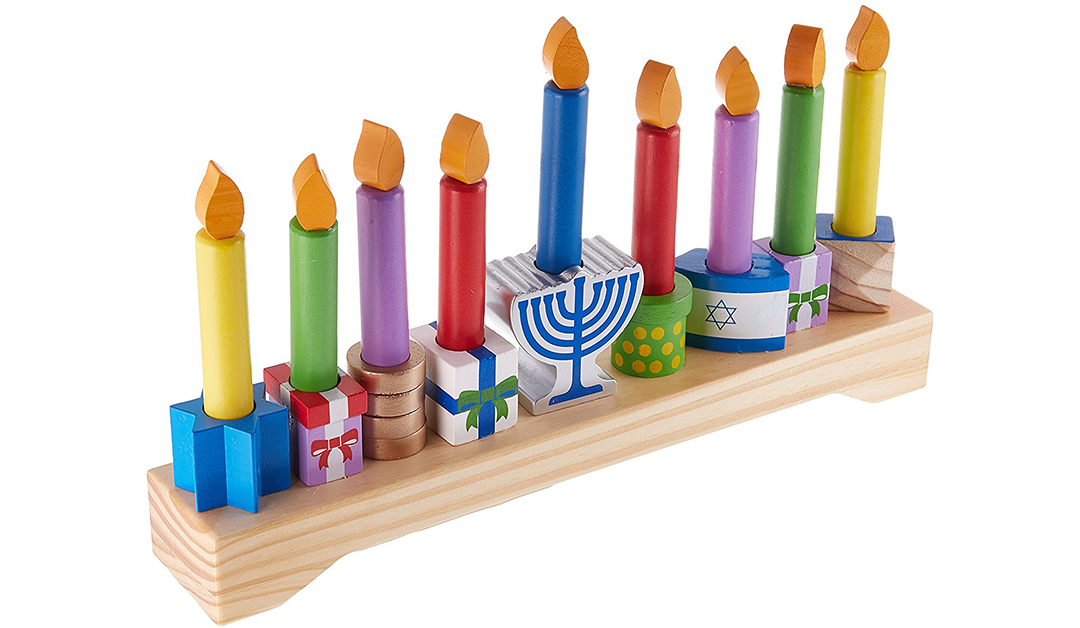 Amazon BEST DEAL: Kidkraft Children's Menorah