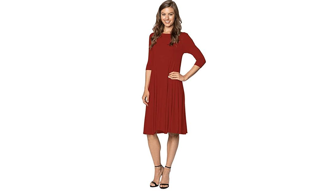 Amazon #PRIMEDAY LIGHTNING DEAL: Trapeze Midi Dress