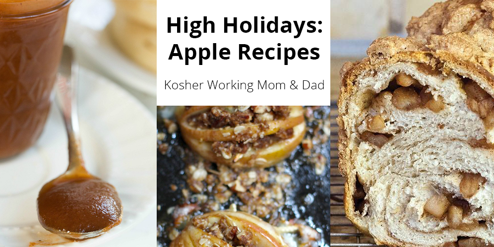 Holiday/Fall Menu Plan: Apples