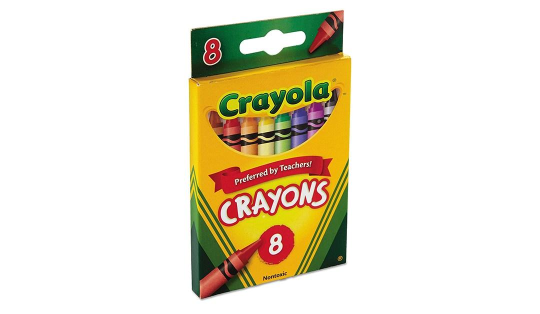 Amazon BEST PRICE: Crayola Crayons 8 ct