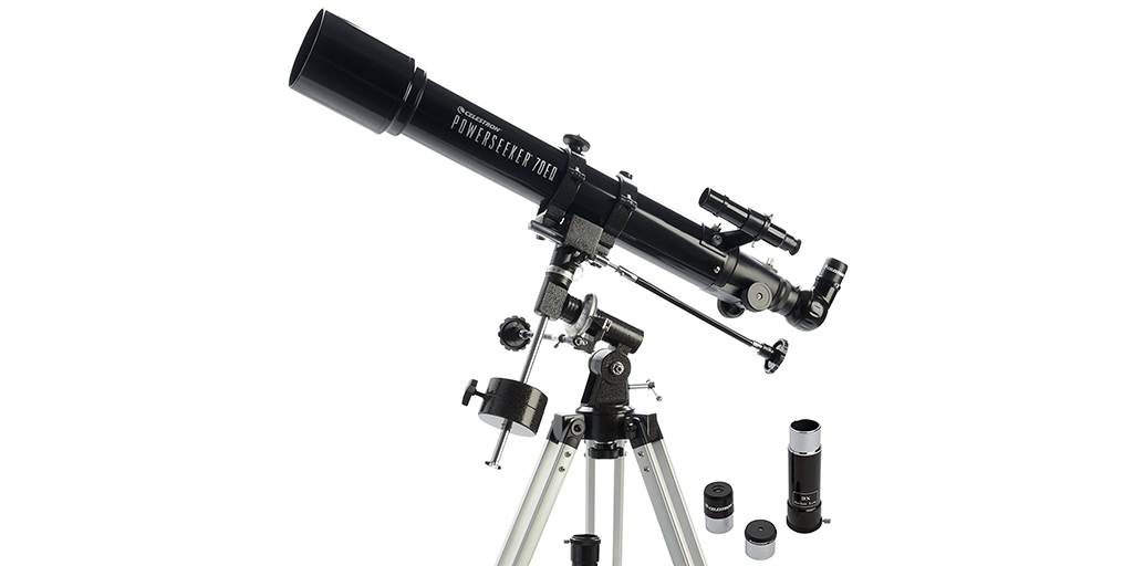 Amazon | BEST PRICE: Celestron PowerSeeker 70EQ Telescope