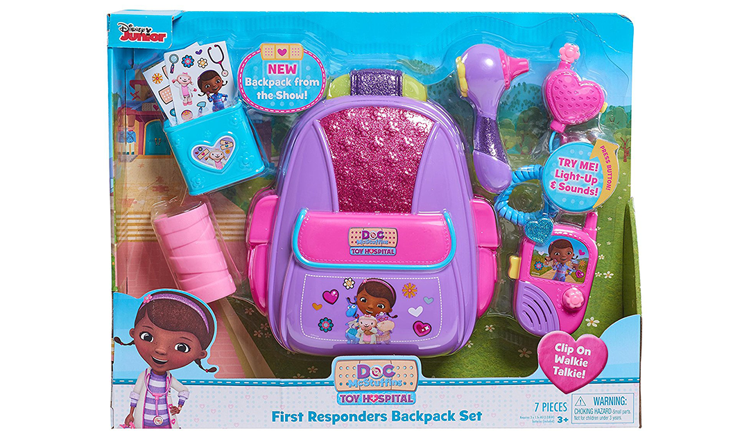 Amazon | BEST PRICE: Doc McStuffins First Responders Backpack Kit
