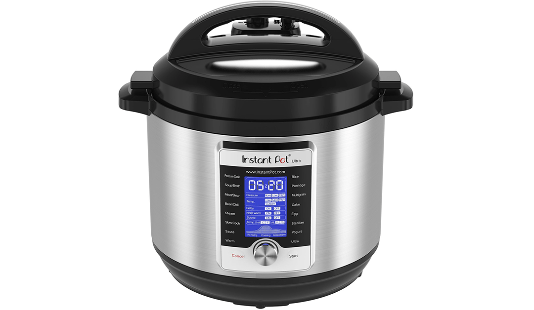 Amazon | BEST PRICE: Instant Pot Ultra 8 Qt 10-in-1 Multi- Use Programmable Pressure Cooker, Slow Cooker, Rice Cooker, Yogurt Maker, Cake Maker, Egg Cooker, Sauté, Steamer, Warmer, and Sterilizer