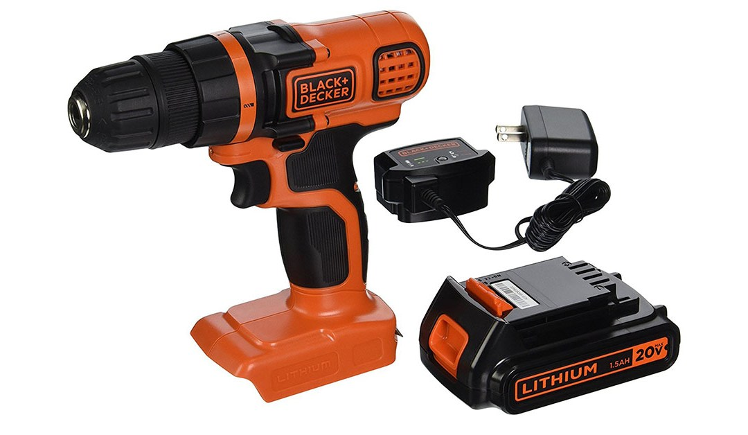 Amazon | BEST PRICE: Black & Decker Drill / Driver
