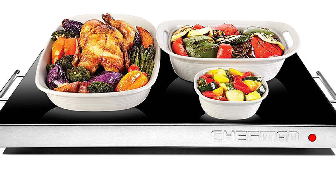 Amazon | GOOD DEAL + LIGHTNING DEAL: Chefman Electric Warming Tray (Shabbat Blech/Hot Plate)