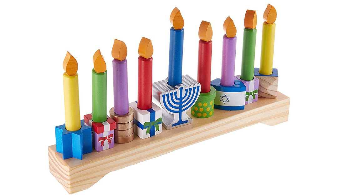 Amazon | GOOD DEAL: Kidkraft Menorah