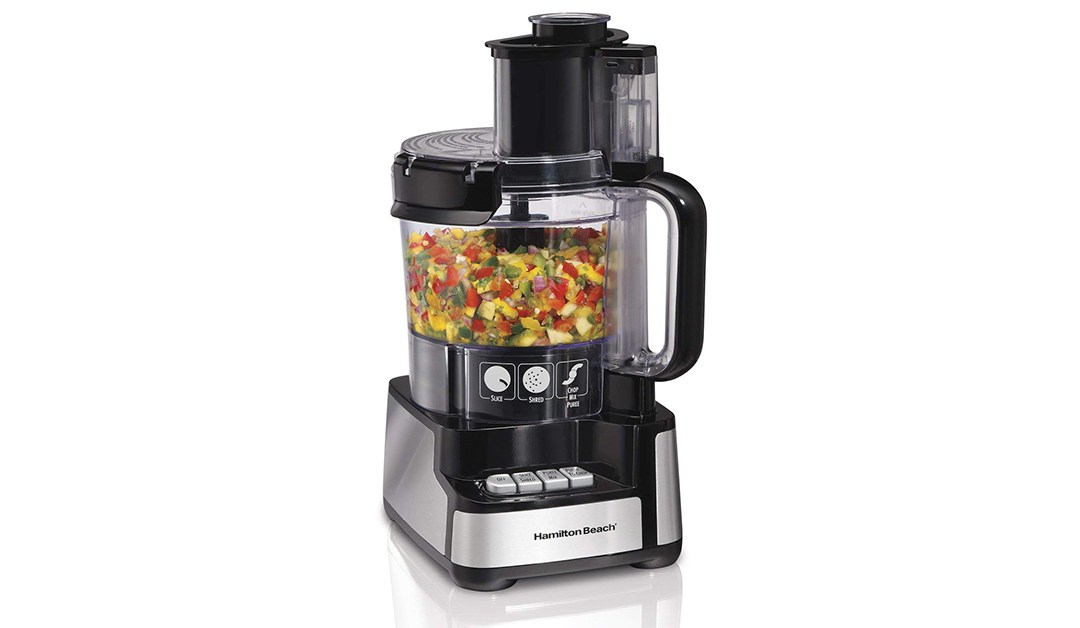 Amazon | GOOD DEAL: Hamilton Beach 12-Cup Food Processor