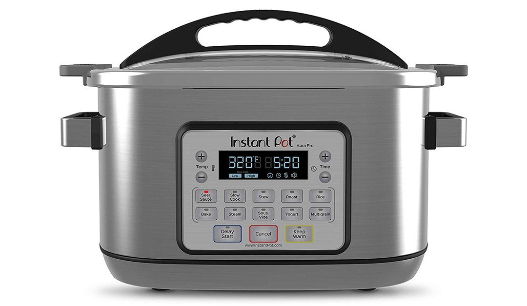 Amazon | GREAT DEAL: Instant Pot Aura Multi-Use Programmable Slow Cooker, 6 Quart, No Pressure Cooking Functionality