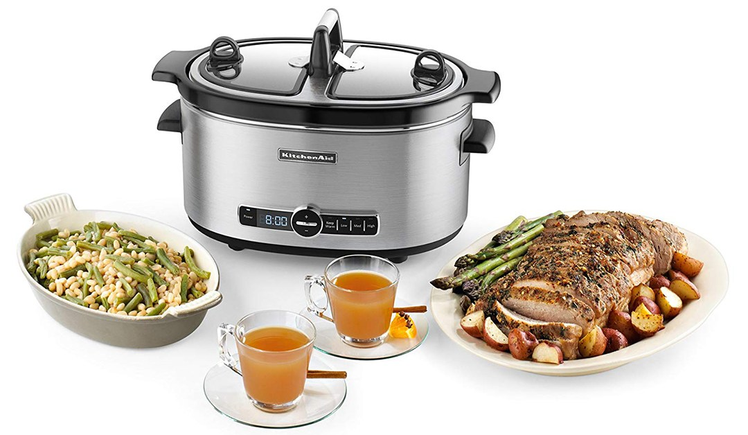 Amazon | BEST PRICE: KitchenAid Slow cooker, 6 quart