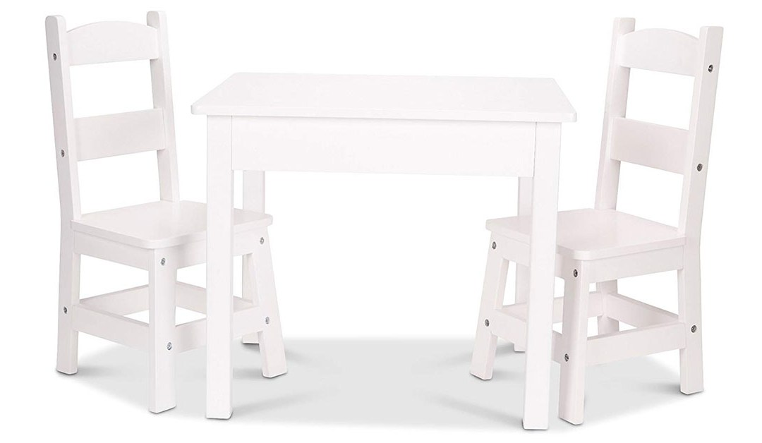 Amazon | BEST PRICE: Melissa & Doug Table & Chairs