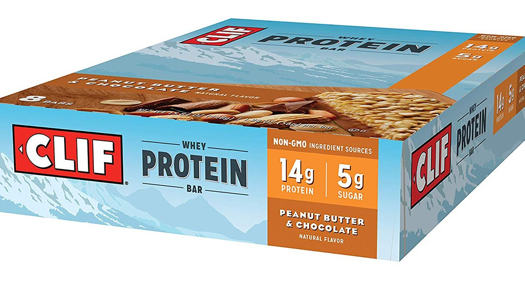Amazon | BEST PRICE + COUPON + SUBSCRIBE & SAVE: Clif Whey Protein Bars