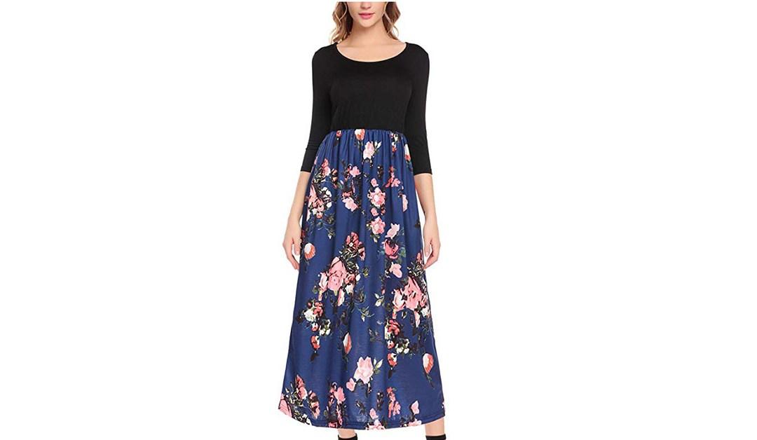 Amazon | 50% off Coupon: Elesol Women's Floral Dress