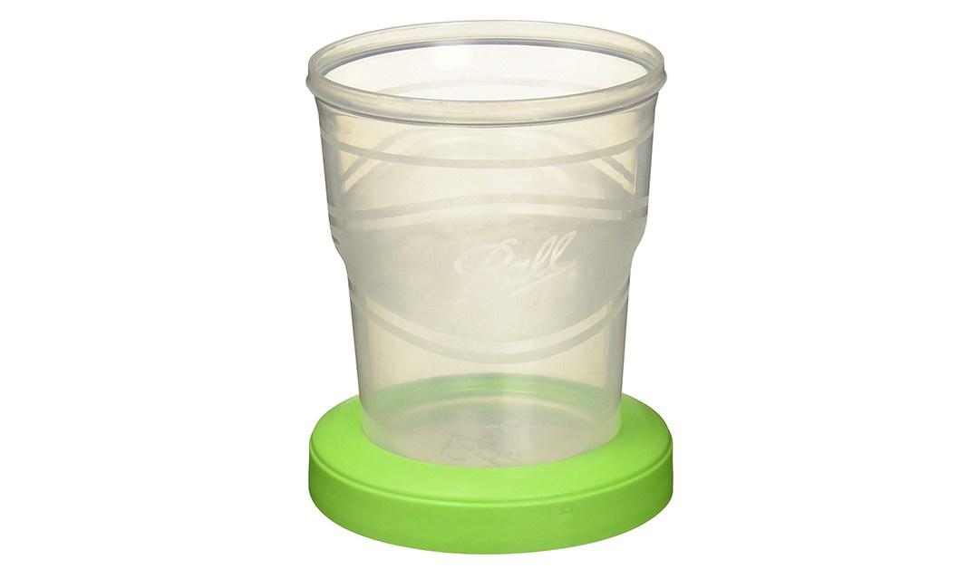 Amazon | BEST PRICE: Ball Plastic Pint Freezer Jars with Snap-On Lids