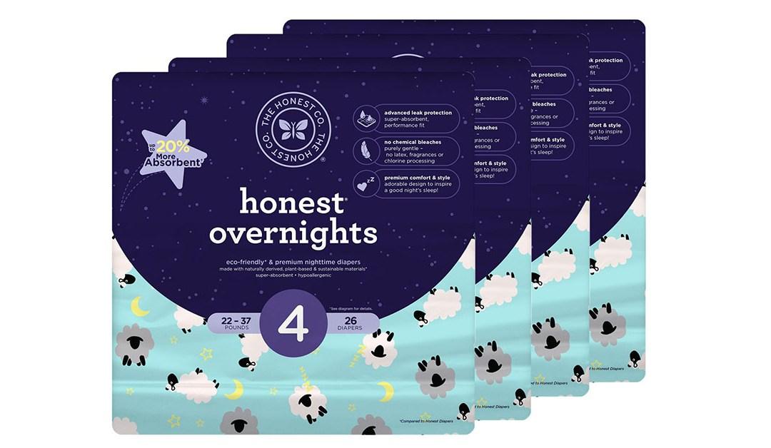 Amazon | BEST PRICE: Honest Diapers
