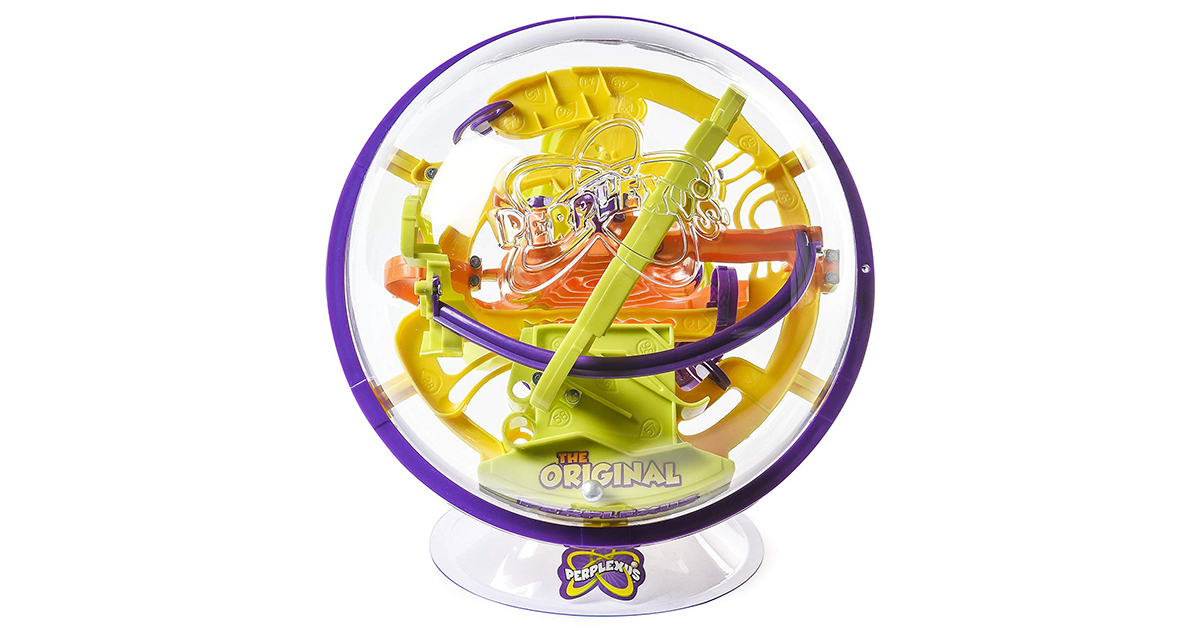 Interactive Maze Game with 100 Challenges Small Size Perplexus Original