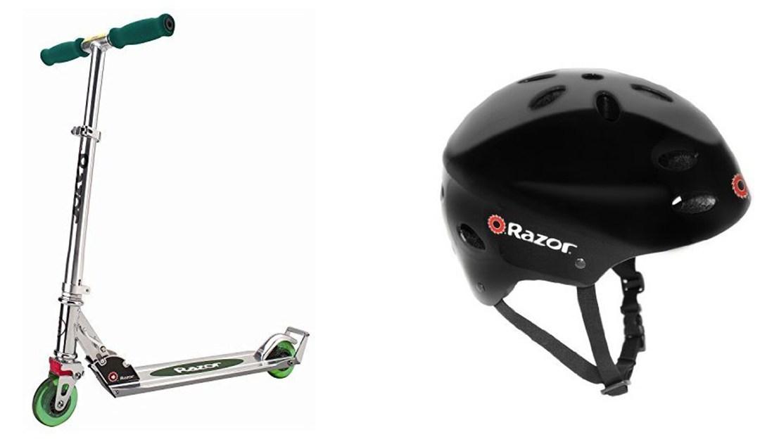 Amazon | BEST PRICE: Razor Scooter + Helmet