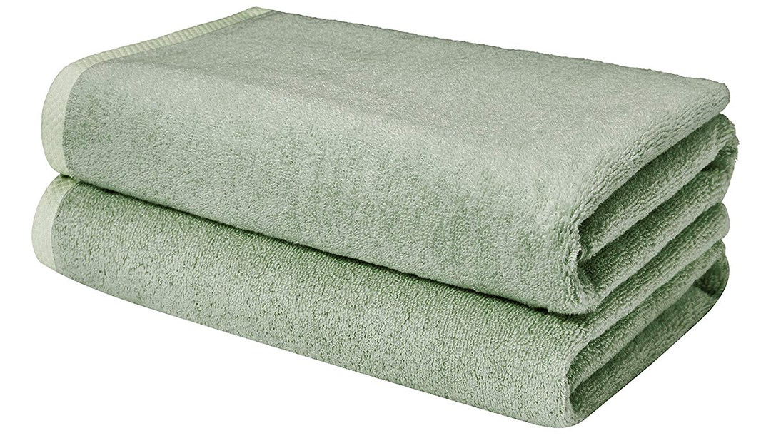 Amazon | BEST PRICE + PRIME MEMBER DEAL: AmazonBasics Quick-Dry Towels, Bath Sheet,