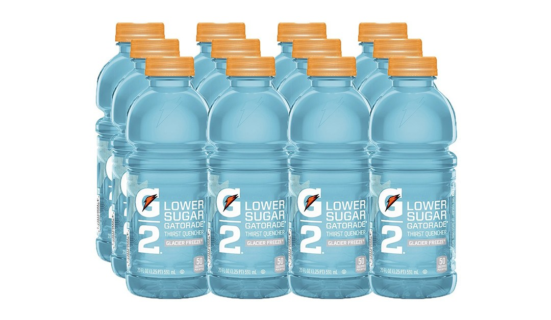 Amazon | BEST PRICE + SUBSCRIBE & SAVE + COUPON: Gatorade Glacier Freeze 12 Pack