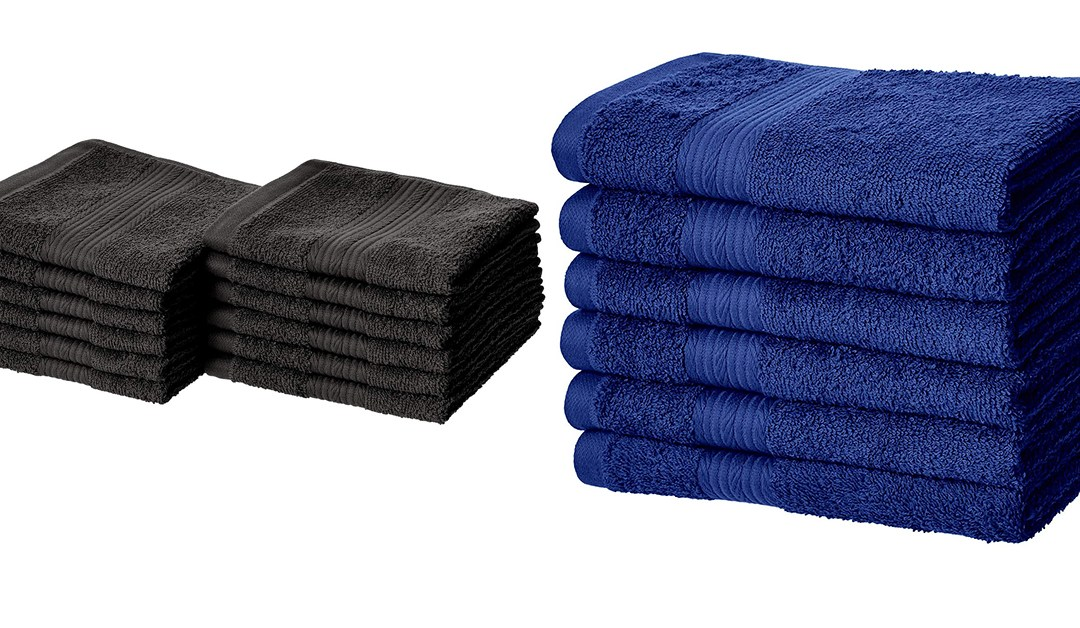 Amazon | BEST PRICE: Amazon Basics Washcloths & Hand towels
