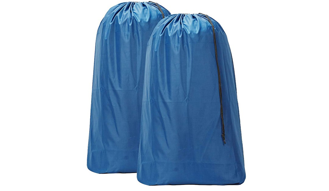 Amazon | BEST PRICE: Homest 2 Pack Nylon Laundry Bags