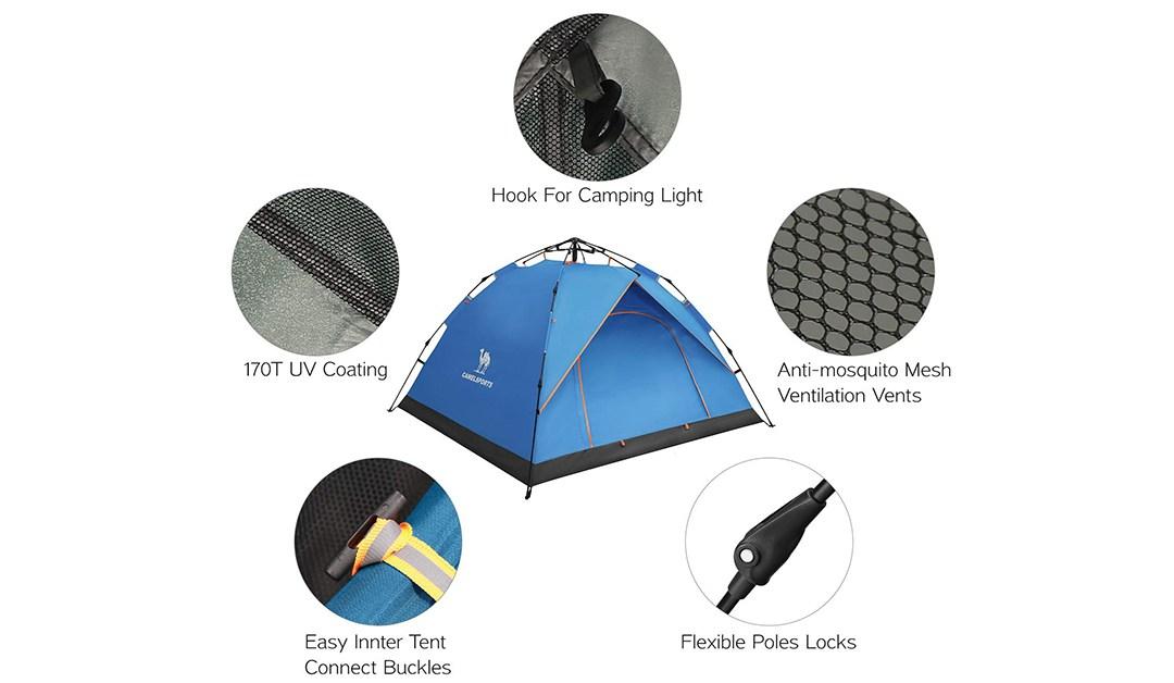 Amazon | BEST PRICE: 50% 2-3 Person Tent
