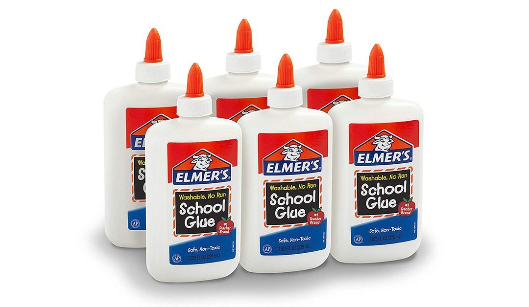 Amazon | BEST PRICE: Elmer's Glue – 6 Pack
