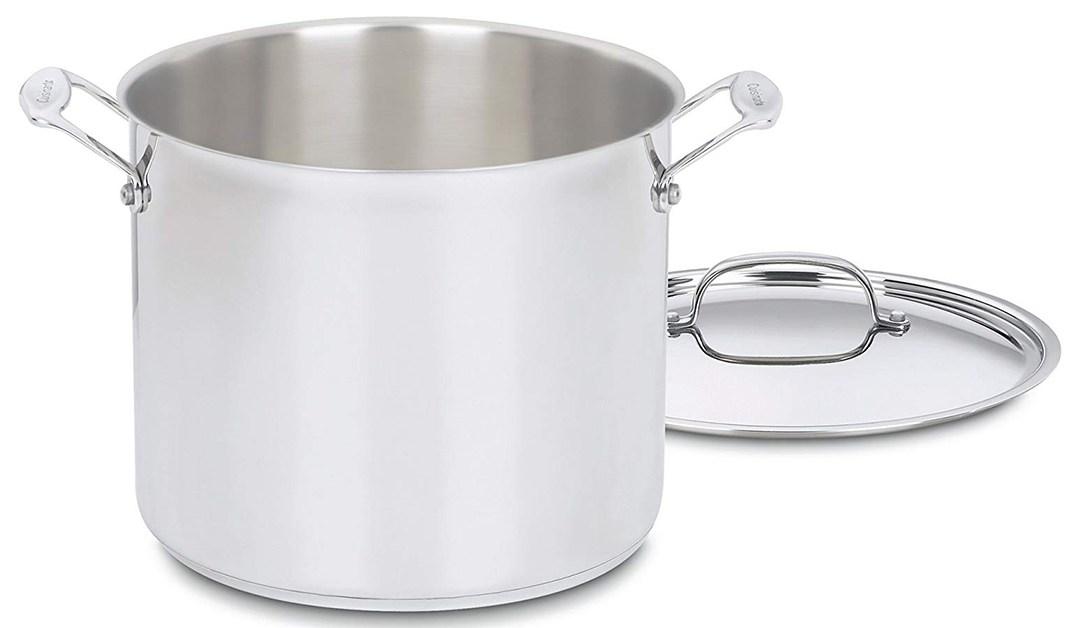Amazon | BEST PRICE: Cuisinart 12 Qt Stock pot