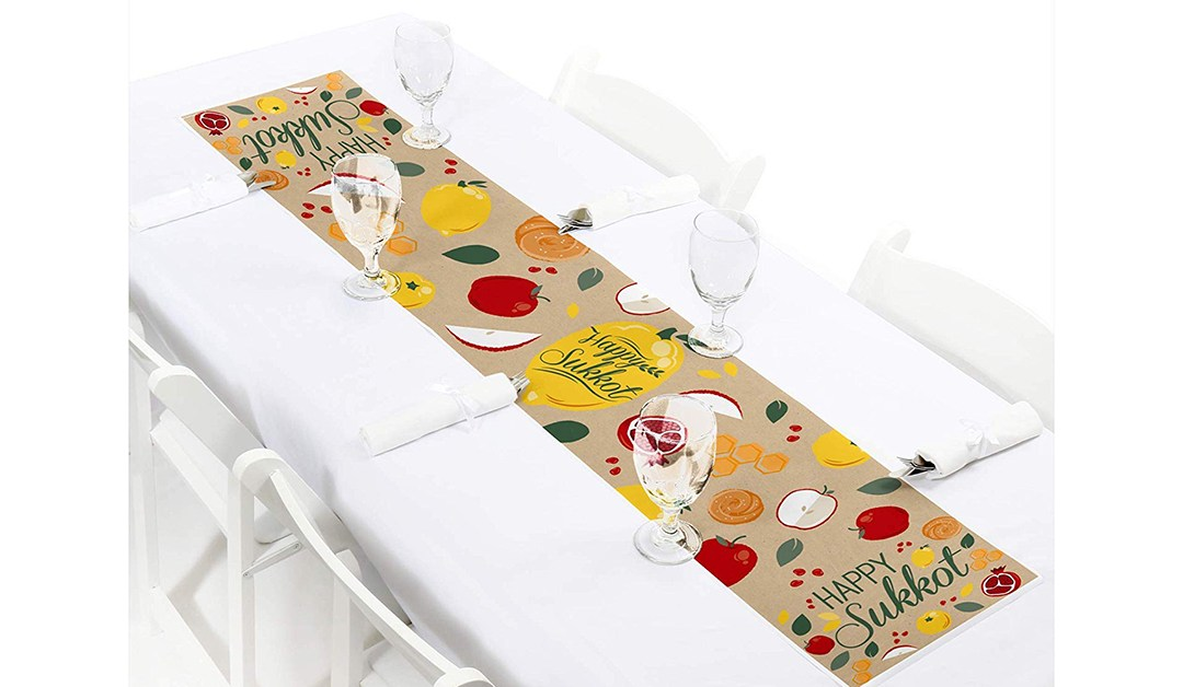 Amazon | BEST PRICE: Sukkot Table Runner