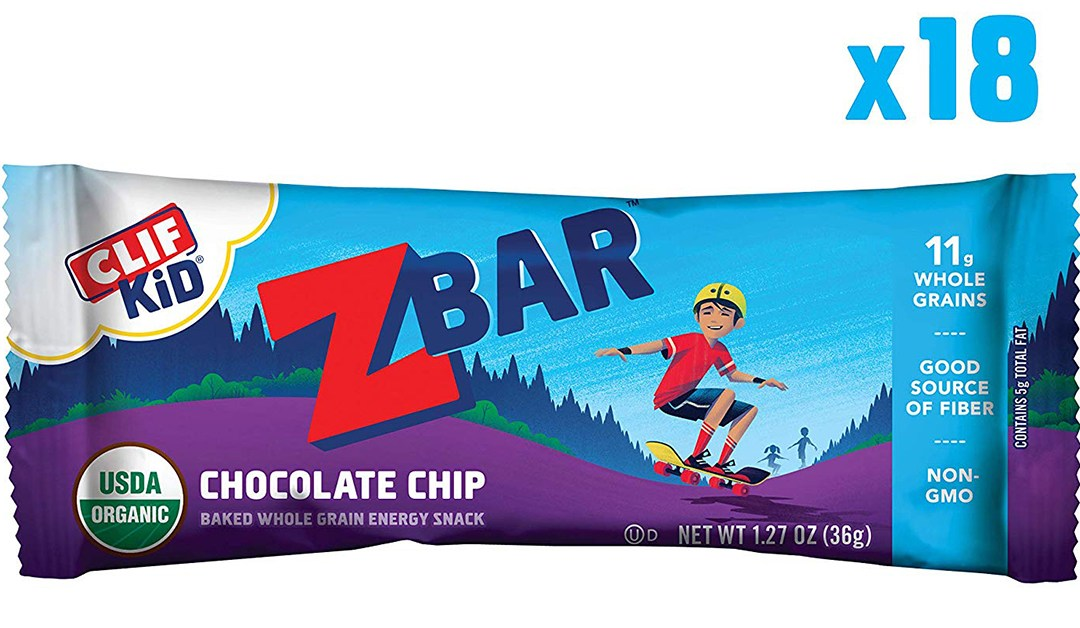 Amazon | BEST PRICE + SUBSCRIBE & SAVE: Clif Kids ZBar Chocolate Chip Bars