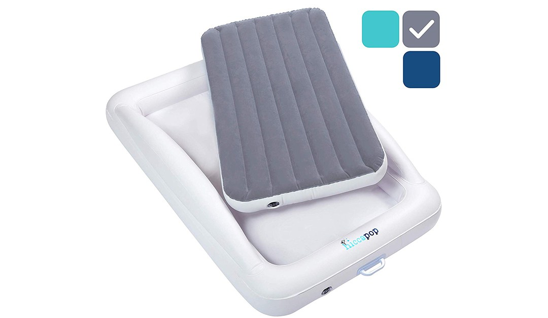 Amazon | BEST PRICE: Inflatable Toddler Travel Bed