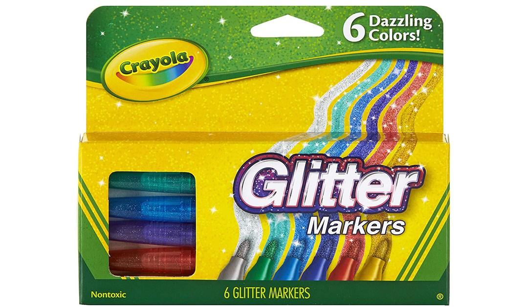 Amazon   PRICE DROP: Crayola Glitter Markers