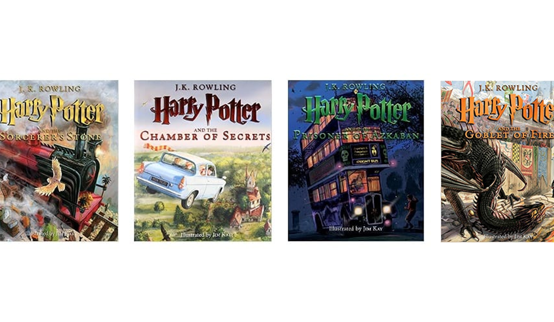 Amazon | 3 for the Price of of 2 #PrimeDay2020: Illustrated Harry Potter Bookes