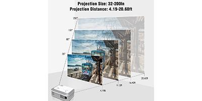 Amazon | BEST PRICE: Video Projector