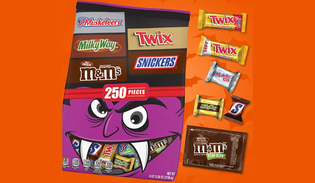 Amazon | BEST PRICE: Chocolate Candy Variety Mix (M&Ms, Snickers, Twix, 3 Musketeers, & Milky Way